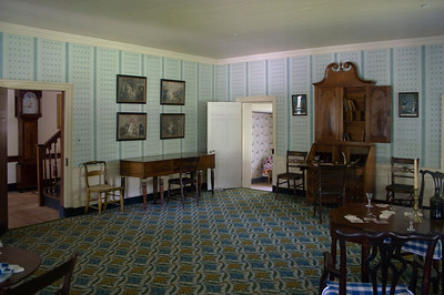 Woodville Plantation: interior: parlor with Clemente pianoforte