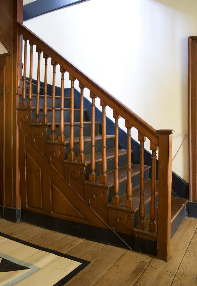 Woodville Plantation: interior: staircase