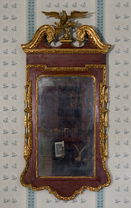 Woodville Plantation: interior: parlor mirror
