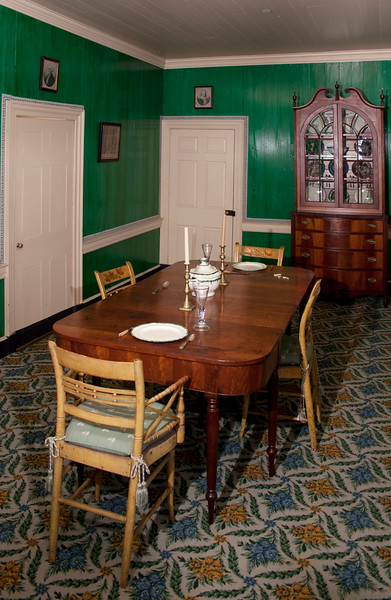 Woodville Plantation: interior: dining room