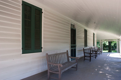 Woodville Plantation: exterior: front porch