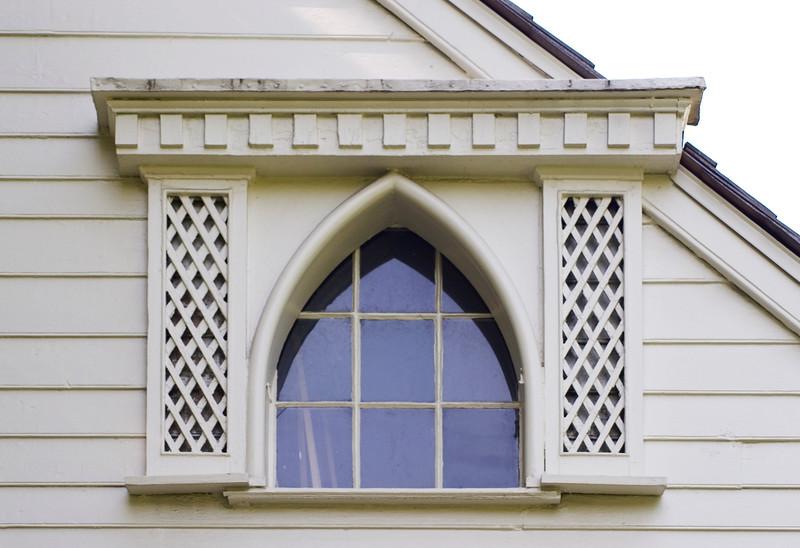 Woodville Plantation: exterior: 2nd floor window