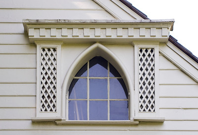 Woodville Plantation: exterior: 2nd floor window