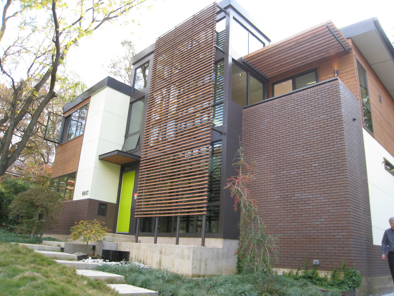 8645 Labron - LOVED this house. This was my favorite. Pending LEED Platinum certification.