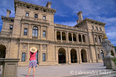 Imagining Life in the Gilded Age in Color at The Breakers, Cornelius Vanderbilt II mansion, Newport, RI
