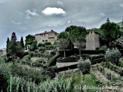 Castello di Lamole, Tuscany, Italy