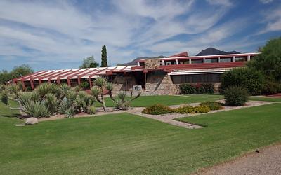 Frank Lloyd Wright's Taliesin West, Scottsdale, AZ