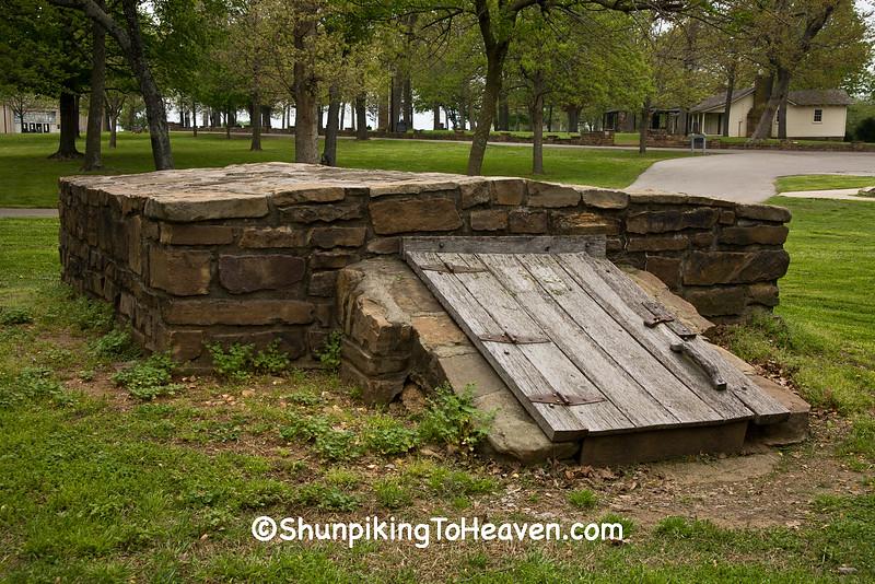 Stone Cellar, Prairie Grove Battlefield State Park, Washington County, Arkansas