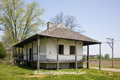 Bequette-Ribault House, Ste. Genevieve, Missouri