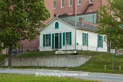 Jesse James Home, St. Joseph, Missouri