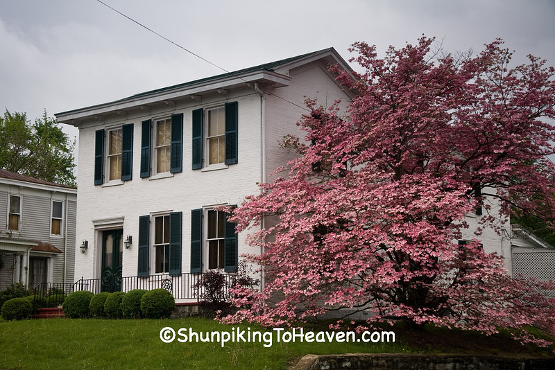 House with Dogwood Tree, Brown County, Ohio