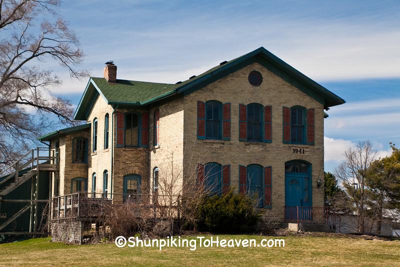 Spaulding House, Rock County, Wisconsin