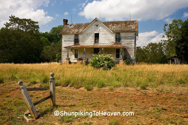 Old Farmhouse, Alamance County, North Carolina