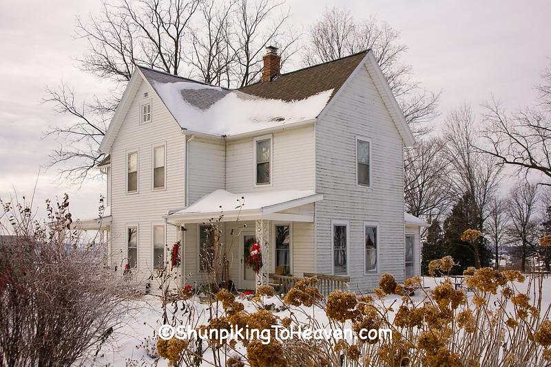 Farmhouse, Schumacher Farm Park, Dane County, Wisconsin
