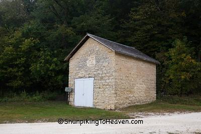 Stone Ice House, Clayton County, Iowa