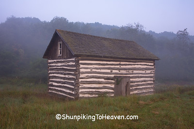 Raddatz Log Cabin, Sauk County, Wisconsin