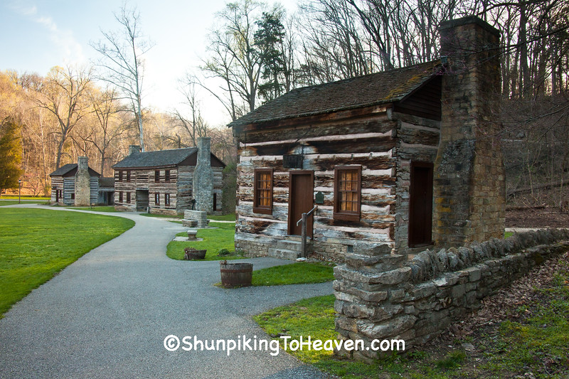 Munson House-Leather Shop, Spring Mill State Park, Mitchell, Indiana