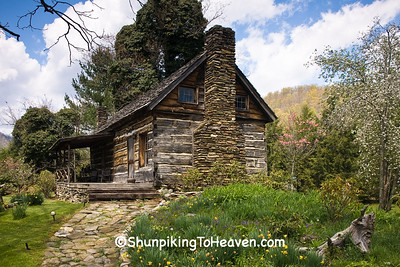 The Wilkins Cabin, Avery County, North Carolina