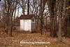 Outhouse in the Woods, Rock County, Wisconsin