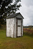 Outhouse, Saratoga Cemetery, Winona County, Minnesota