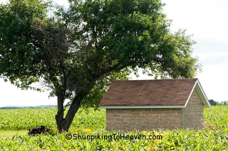 Stone Smokehouse, Dane County, Wisconsin