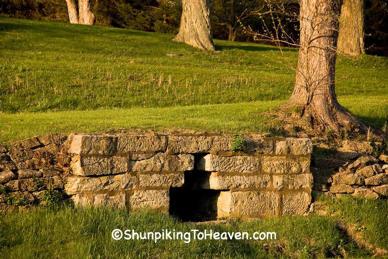 Stone Spring House, Muskingum County, Ohio