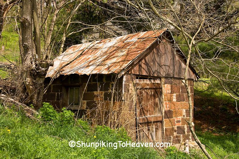 Decorative Tile Spring House, Guernsey County, Ohio