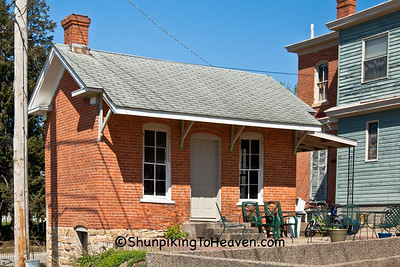 Brick Summer Kitchen, Fort Madison, Iowa