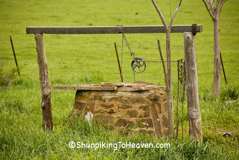 Old Stone Well, Newton County, Arkansas