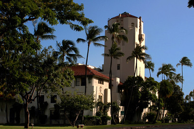 Honolulu Hale, built in 1928 is a beautiful building created in a California-Spanish style designHonolulu, Hawai'i