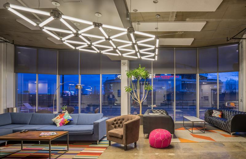 Turntable Lofts Lobby