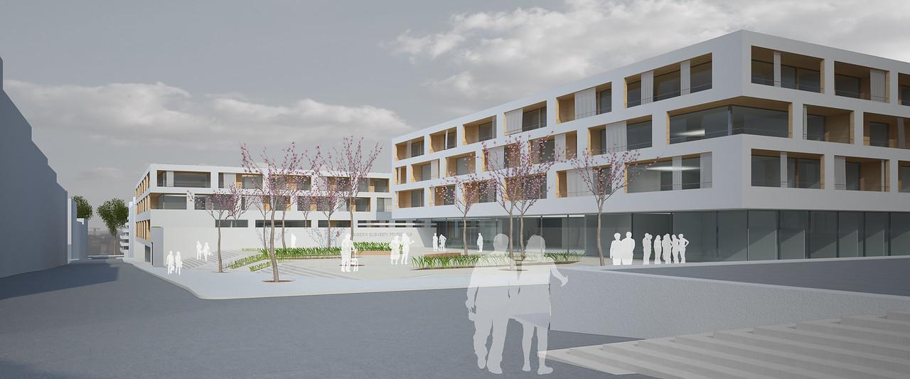 WB Neustrukturierung des Areals des Kaiserin-Elisabeth-Spitals