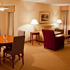 A rather posh concierge-level suite at the Delta Hotel Ottawa