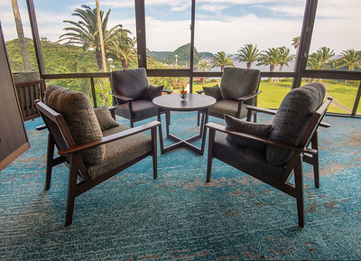Lounge Area at the Shimoda Tokyu Hotel Resort
