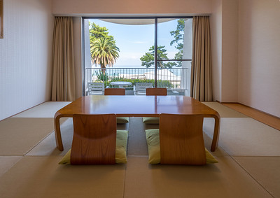 Imaihama Hotel Tatami Sitting Area