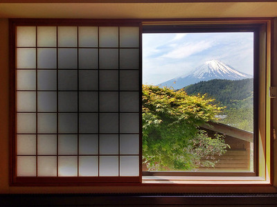 Fuji From The Window