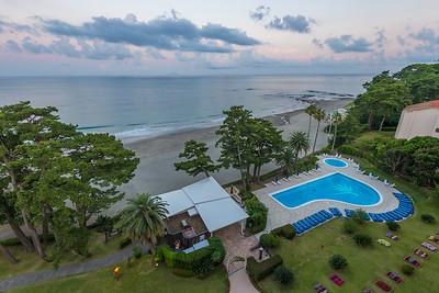 Aerial View of the Imaihama Tokyu Hotel Resort