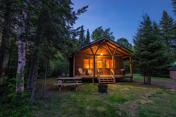 Rustic Cabin at Tall Timber Lodge, NH