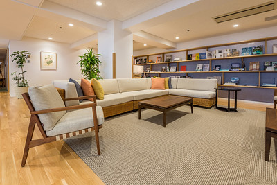 Book Corner at Imaihama Tokyu Hotel Resort