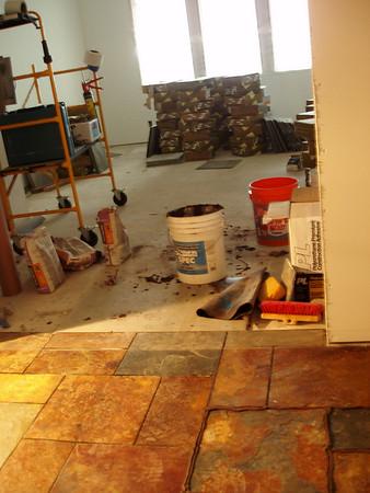 hall stone... and mess!!