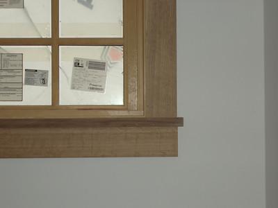 detail of window trim