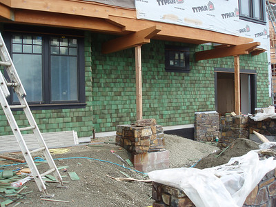 One day this will be the lower floor porch/patio and gardens...