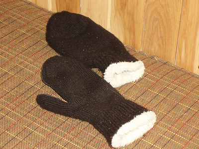 "Mittens are a ""must"" to keep my hands toasty warm."
