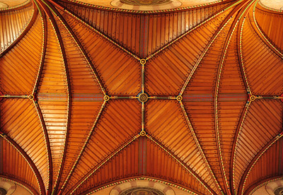 Bad Mergentheim Marienkirche Ceiling