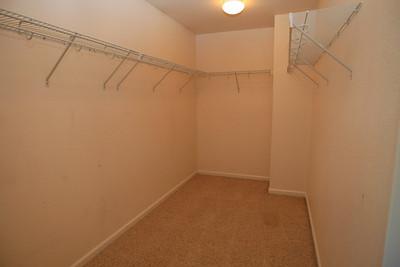 Large walkin closet