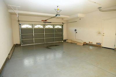 Two car garage