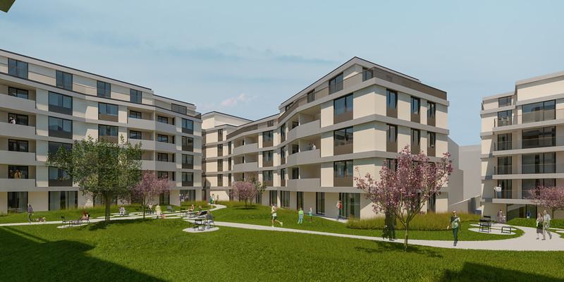 Wohnbebauung Schönbrunnerstrasse-Arndtstrasse 1120 Wien Kamera 03: Ansicht Hof