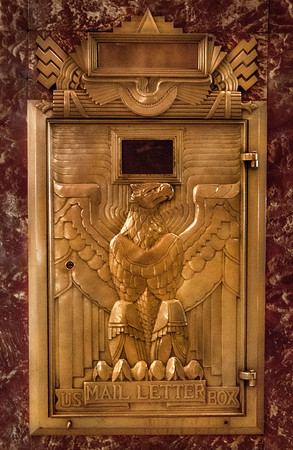 Chrysler Building Lobby Mailbox