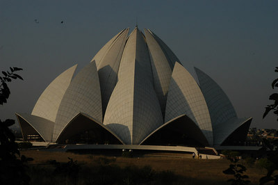 Baha'i Lotus Temple Nel Delhi, India