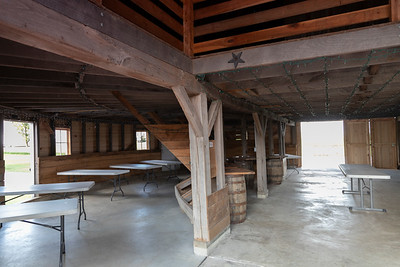 Interior of Spurgeon Round Barn